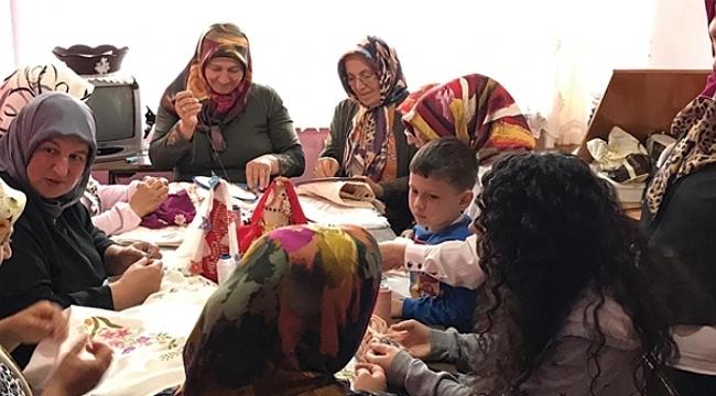 Çarşamba Ev Hanımları Derneği kadınlara nefes oldu