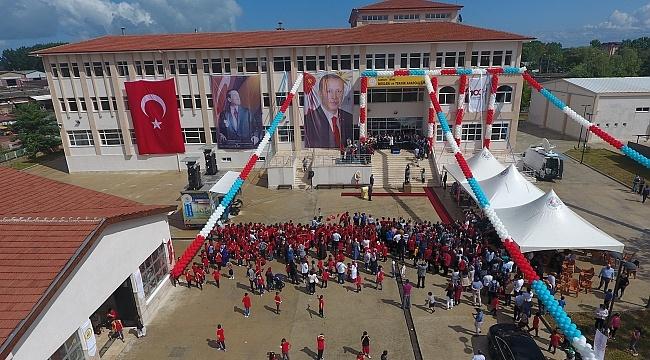 Cumhurbaşkanı Erdoğan Terme'de okul açtı