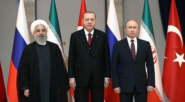 Erdoğan, Putin ve Ruhani'yle görüşecek