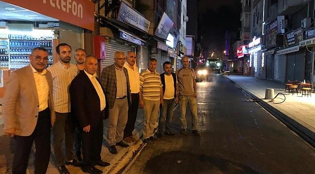 İLKADIM'DA SOKAK VE CADDELER MODERN GÖRÜNÜM KAZANIYOR