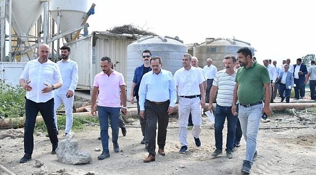 Kaymak ve Demir Tekkeköy'de Devlet Hastanesi'ni incelediler