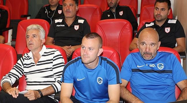 KRC Genk antrenörlerinden Samsunspor'a taktik