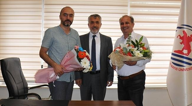 OMÜ Sosyal Bilimler Enstitüsü'nde Devir Teslim Töreni
