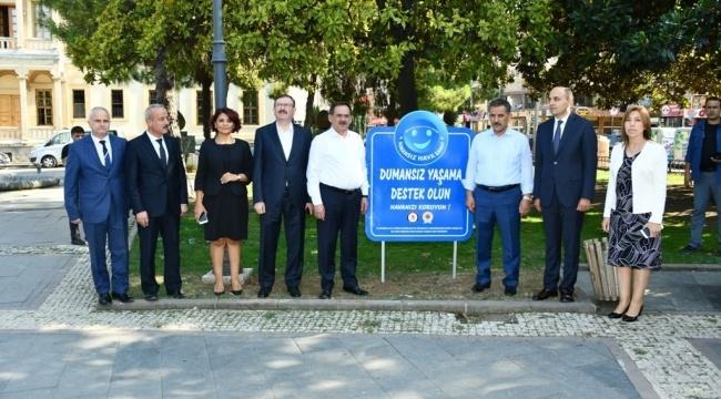 Samsun Anıt Parkdumansız hava sahası ilan edildi