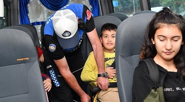 Samsun Büyükşehir'den Öğrenci Servislerine 'MOBİL' denetim