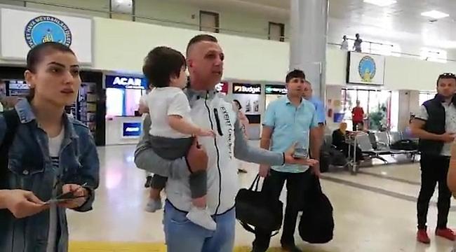 Samsun Çarşamba Havalimanı'nda uçuş krizi