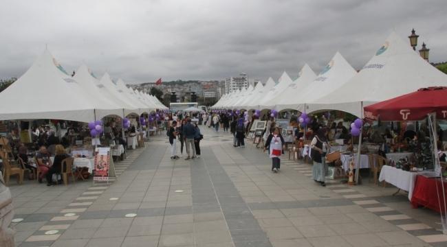 Samsun'da kadın emeği festivali başladı