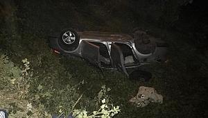 Samsun'da otomobil yoldan çıktı: 5 yaralı