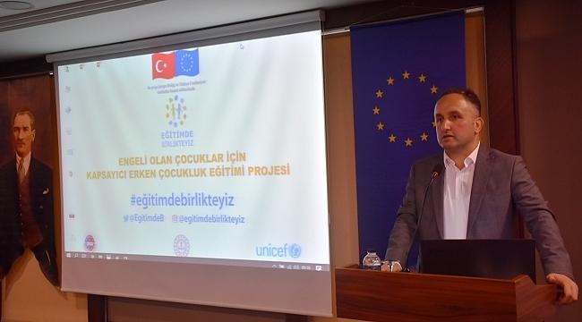 Samsun'da UNİCEF destekli proje