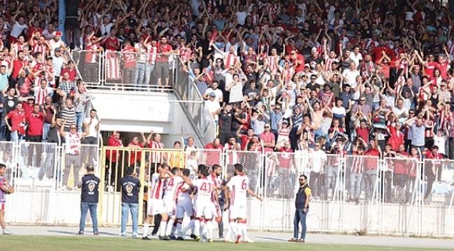 Samsunspor ilk yarıyı 2-1 önde bitirdi