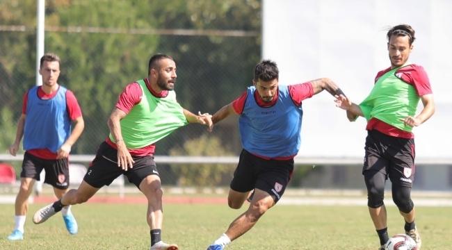 Samsunspor Tarsus İdman Yurdu'na maçına hazırlanıyor