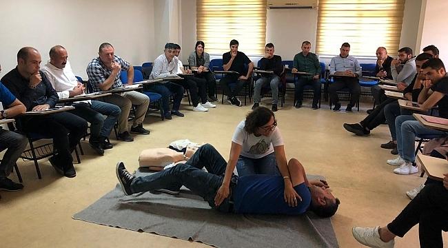 SAMULAŞ'tan personele 'Hayat Kurtarma' eğitimleri