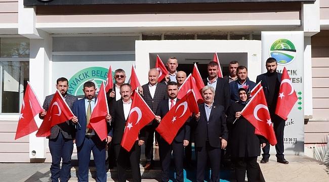 Ayvacık Belediyesi'nden Barış Pınarı Harekatı'na destek