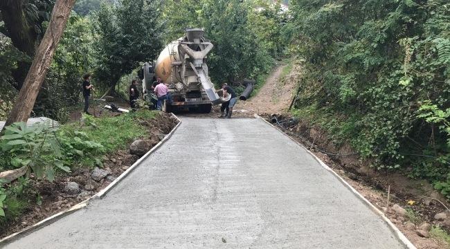 Başkan Akgül: Salıpazarı'nda selin izlerini siliyoruz