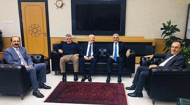 Başkan Çakır İl Emniyet Müdürü Urhal'ı ziyaret etti