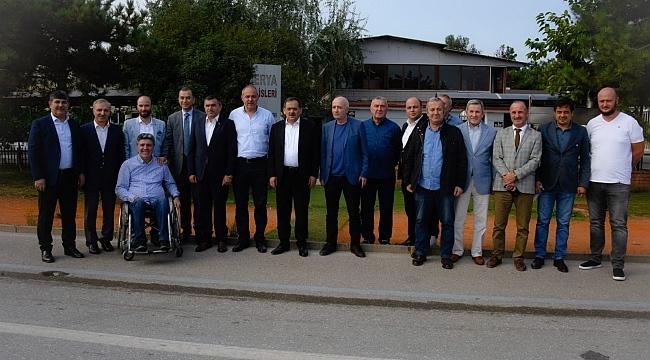 Başkan Demir'den Samsunspor'a tam destek