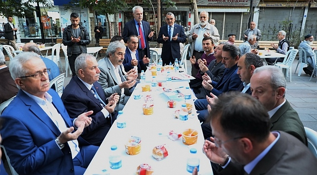 Başkan Demirtaş İlkadımlılarla çorba içti