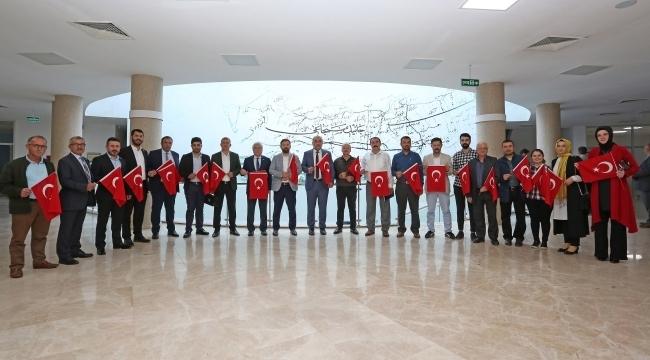 Canik Belediyesi'nden Mehmetçik Vakfı'na bağış