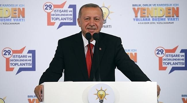 Cumhurbaşkanı Erdoğan: Faizler daha da gerileyecek