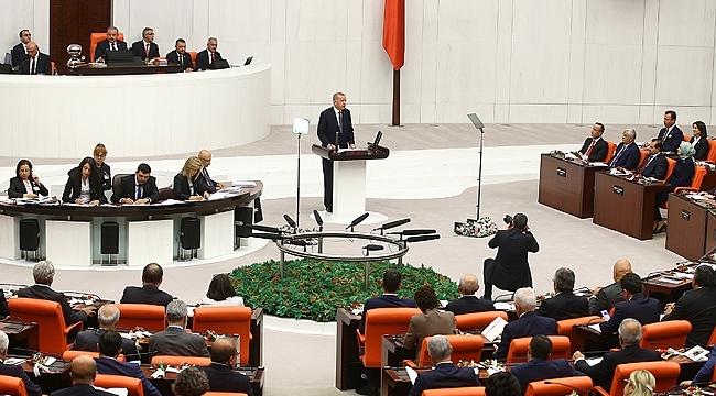 Cumhurbaşkanı Erdoğan, TBMM Genel Kurulu'nda hitap etti