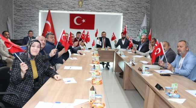 Kavak Belediyesi'nden Barış Pınarı Harekatı'na destek