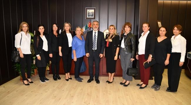 Rektör Bilgiç'ten TOBB Samsun Kadın Girişimciler Kurulu'na iş birliği çağrısı