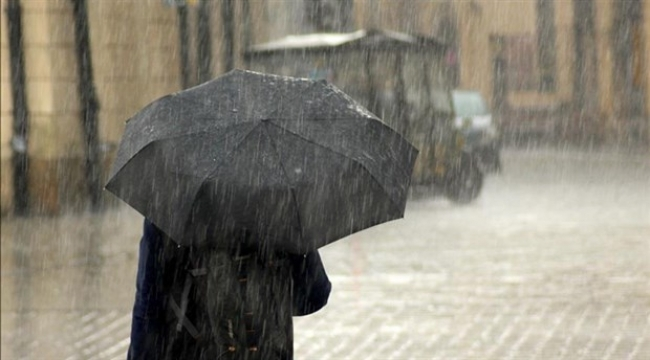 Samsun'a hafta sonu sağanak yağış geliyor