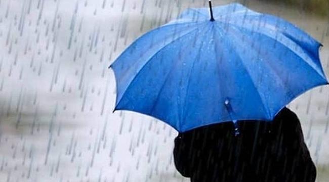 Samsun'da gece saatlerinde sağanak yağış uyarısı