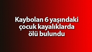 Samsun'da kaybolan çocuğun cansız bedeni bulundu