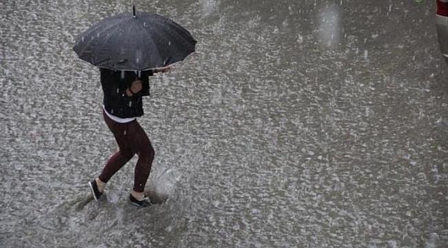 Samsun için sağanak yağış uyarısı
