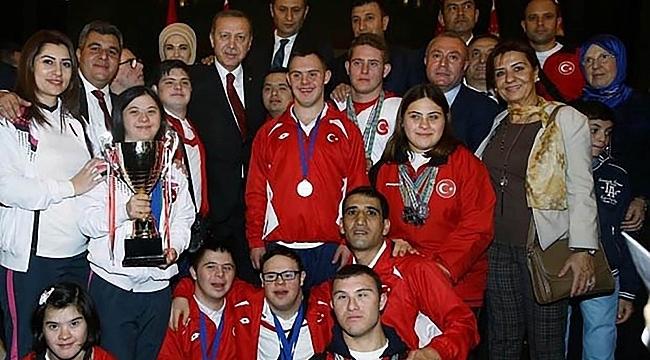 Samsunlu milli sporcuya Cumhurbaşkanlığından davet