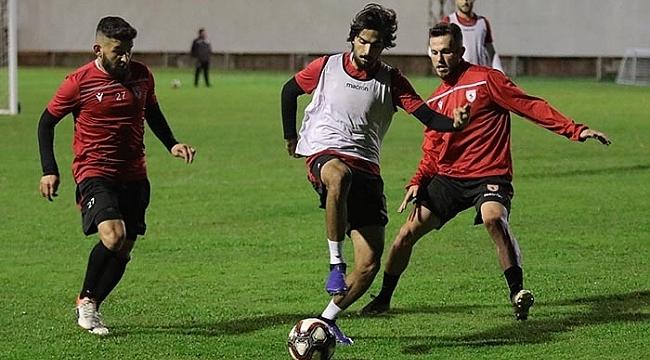 Samsunspor Amed maçı hazırlıklarına başladı
