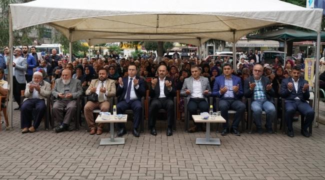 Terme'de dualar Mehmetçik için yükseldi