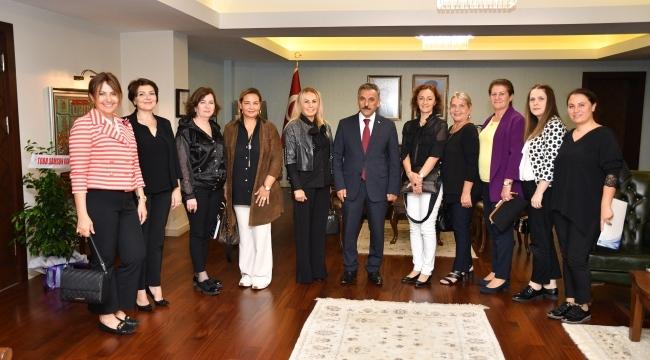 Vali Kaymak'tan girişimci kadınlara destek sözü