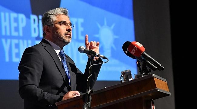 Ersan Aksu: AK Parti'nin kaderi ile ülkenin kaderi birdir