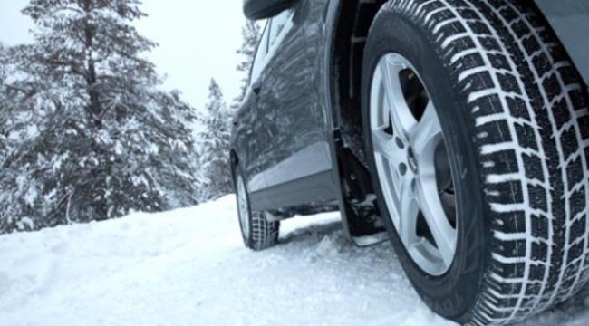 Kış lastiği takmayana 625 lira ceza