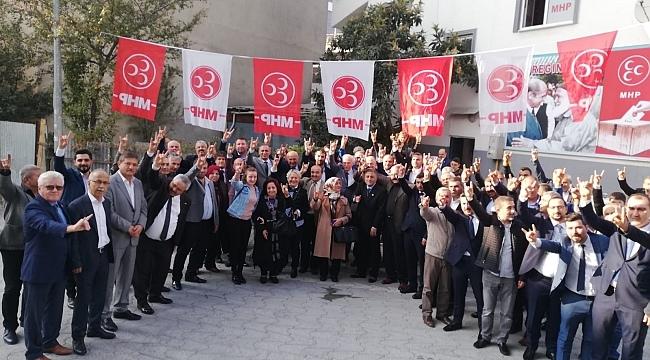 Samsun Haber - MHP İlkadım ve Canik İlçe Başkanları göreve başladı