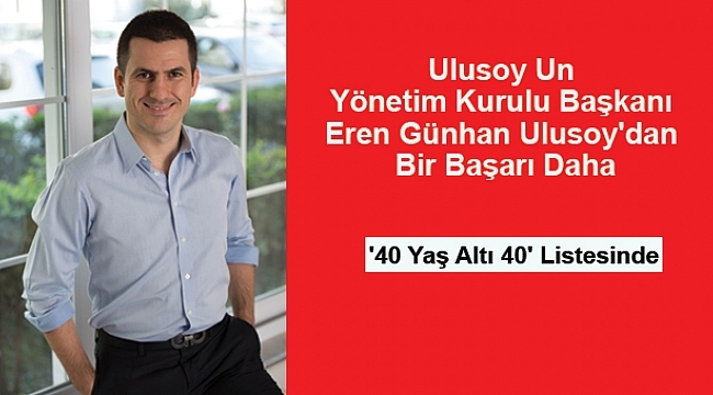 Samsun Haber - '40 Yaş Altı 40' listesinde