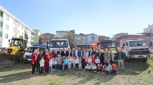 Samsun Haber - Başkan Sandıkçı: Çocuklarımız için çalışıyoruz