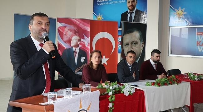 Samsun Haber -  Başkan Sarıcaoğlu: Liderimizin Etrafında Kenetlendik