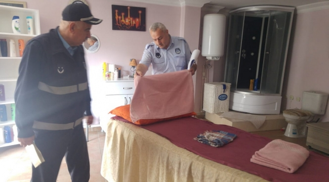 Samsun Haber - İlkadım'da hamam ve masaj salonlarına sıkı denetim