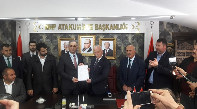 Samsun Haber - MHP Atakum'da bayrak değişimi