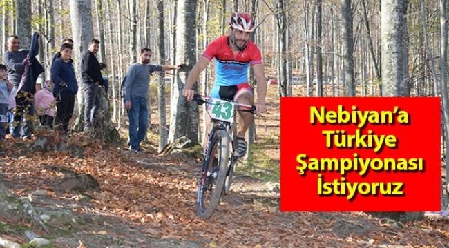 Samsun Haber - Nebiyan'a Türkiye Şampiyonasını İstiyoruz