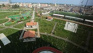 Samsun Haber - Samsun'da 'Millet Bahçesi' tamamlandı