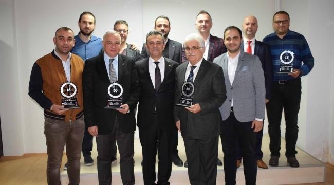 Samsun Haber -  Samsun MMO onurlandırdı