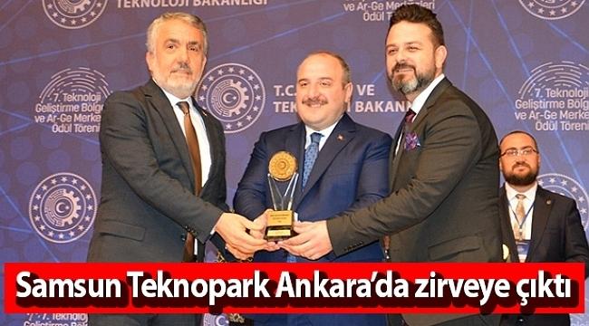 Samsun Haber - Samsun Teknopark Ankara'da zirveye çıktı