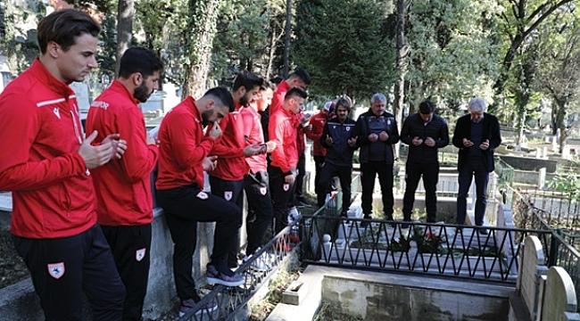 Samsun Haber - Samsunspor'dan Badalıoğlu'na vefa