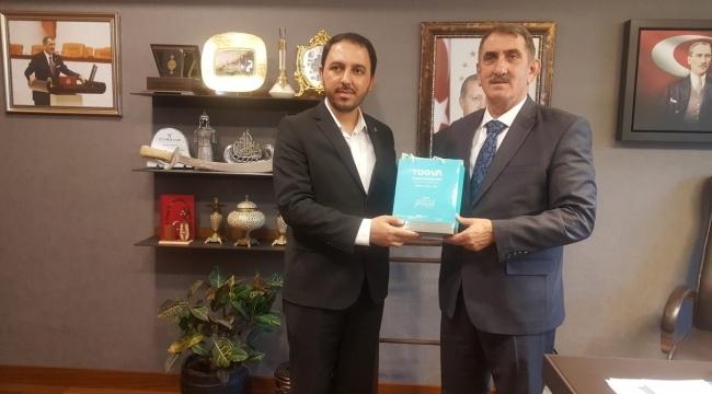 Samsun Haber - TÜGVA'dan Samsun Milletvekillerine ziyaret