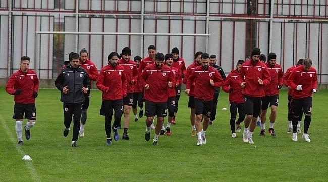 Samsun Haber - Samsunspor hazırlıklarını sürdürüyor