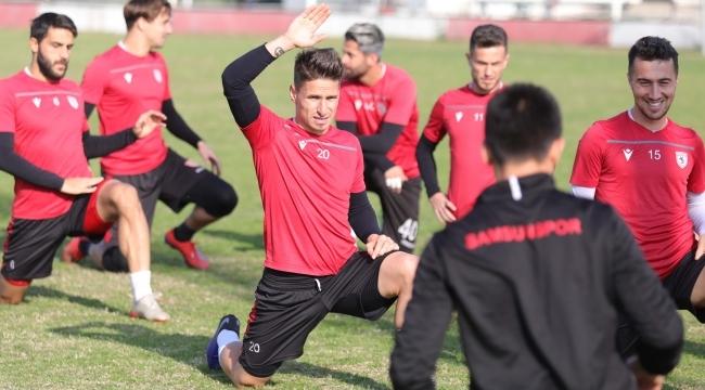 Samsunspor Hekimoğlu Trabzon maçına hazır